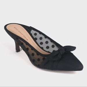 Who What Wear Gorgeous Mules